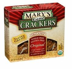 Mary's Gone Crackers Organic Original Seed Cracker 6.5 OZ Box (Pack of 3) - http://goodvibeorganics.com/marys-gone-crackers-organic-original-seed-cracker-6-5-oz-box-pack-of-3/
