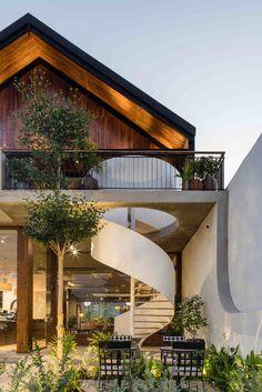 Cafe Design, House Design, Interior Design, Cafe Shop, Facade House, Future House, Anna, Landscape Design, Exterior