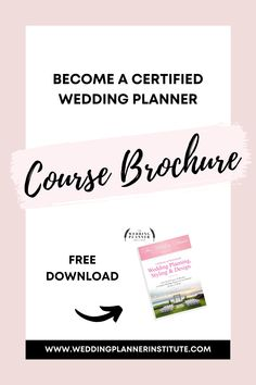 Learn How To Become a Certified Wedding Planner and Build Your Career Filled with Passion. Get Started Today! Download our Course Brochure! Wedding Tips, Wedding Styles, Dream Career, Industrial Wedding, Perfect Wedding, Something To Do, Wedding Planner, How To Become, Wedding Inspiration