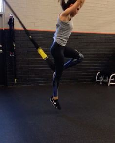 "7,481 Likes, 140 Comments - Alexia Clark (@alexia_clark) on Instagram: ""TRX 1. 15 each side 2. 15 each side 3. 15 reps 4. 20 reps 5. 10 reps each side 3 rounds!…"""