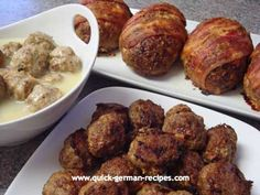 Got ground beef? Need some ideas? Check out this basic recipe and make all these: http://www.quick-german-recipes.com/quick-meatloaf.html