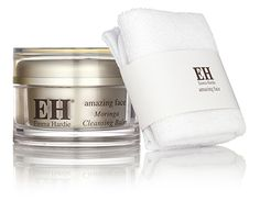Moringa Cleansing Balm with Cleansing Cloth. one of the best cleansers. Caroline Hirons approved