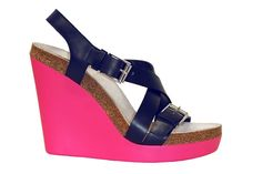 Jil Sander Tropico Wedge with jeans and a silver (impossible to find) or charcoal deep v-neck t from AA. Sigh.