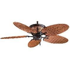 Bamboo Ceiling Fans: Buyer's Guide #bamboo #home_decor #ceiling_fans
