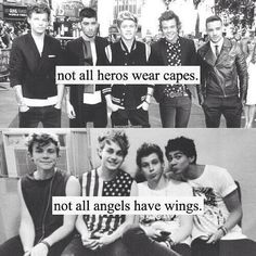 This is so true 1d saved me from killing myself and 5sos r just angels