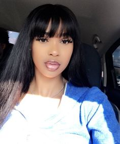 Pleasant Instagram Ti Nyyyy Wig Hairstyles Wigs With Bangs Hair Styles Natural Hairstyles Runnerswayorg