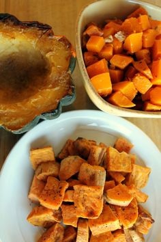 Roasted Butternut Squash With Walnuts, Vanilla and Thyme & Cardamom ...
