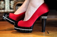 zapatos altos para novia