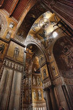Monreale Cathedral in Palermo Sicily                                                                                                                                                                                 More
