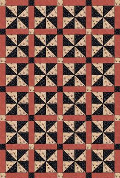 Checker Newsletter » Blog Archive » New Soldier Quilt Pattern - The first quilt I'll make while Wes is gone