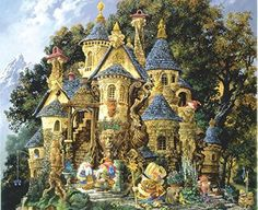 College of Magical Knowledge a 1500-Piece Jigsaw Puzzle by Sunsout Inc. � The Toy Shop