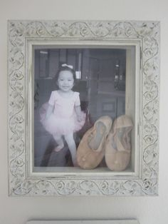 first pair of ballet shoes shadow box Shadow Box, Little Girl Rooms, Little Girls, Projects For Kids, Craft Projects, Shoe Display, Crafts With Pictures, Arts And Crafts, Diy Crafts