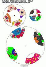 Draaibare clowns - kleur