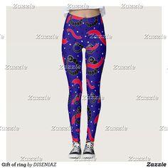 Shop Gift of ring leggings created by DISENIAZ. Blue Leggings, Yoga Leggings, Yoga Pants, Body Types, Body Parts, Black And White Ribbon, Gym Fashion, Fashion Outfits, Leggings Fashion