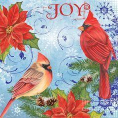 I uploaded new artwork to plout-gallery.artistwebsites.com! - 'Winter Blue Cardinals-Joy' - http://plout-gallery.artistwebsites.com/featured/winter-blue-cardinals-joy-jean-plout.html via @fineartamerica