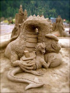 Dark Roasted Blend: Extreme Sand Sculpting