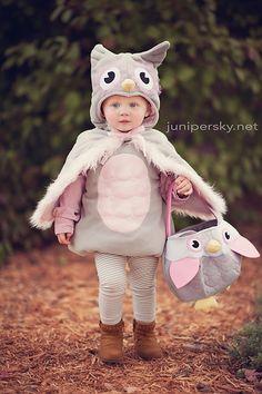 girls halloween costume ideas. costume ideas. toddler girl costume. owl costume. natural light photography. junipersky.net