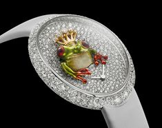 The Frog Prince by Van 'T Hoff Art Watch, Jewelry Watches, Prince, Van, Plates, Tableware, Women, Licence Plates, Dishes