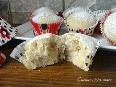 Muffin vegani Cucina vista mare