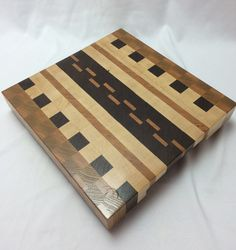 End grain Butcher Block by HartmanWoodworks on Etsy