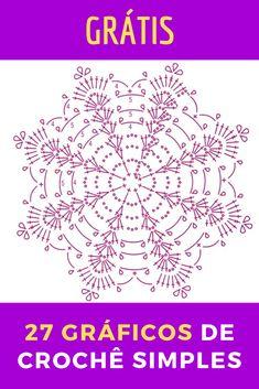 Crochet Circle Pattern, Free Crochet Doily Patterns, Crochet Coaster Pattern, Crochet Doily Diagram, Crochet Flower Tutorial, Crochet Motifs, Crochet Circles, Christmas Crochet Patterns, Crochet Chart