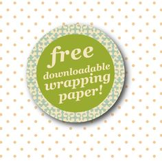 Free wrapping paper (6 patterns, A4 and A3)