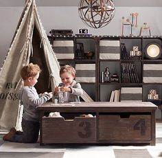 Mason Activity Table | Playroom | Restoration Hardware Baby & Child