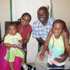 VOH Malawi is happy to introduce their new school principal, Mr. Chimwemwe.  We are excited for the plans that he has for our school to bring a whole new level of reaching our kids spiritually, physically and mentally! Here he is with his wife and family. #vohafrica #education