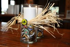 Maybe beer caps or hops even in hurricanes with candles