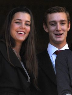 Charlotte Casiraghi and brother, Pierre