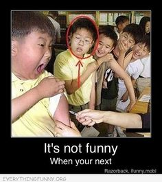 Check out: It's not funny when. One of our funny daily memes selection. We add new funny memes everyday! Bookmark us today and enjoy some slapstick entertainment! Funny Pins, Funny Jokes, Funny Stuff, Memes Humor, Jokes Quotes, Freaking Hilarious, Funny Memes For Kids, Funny Drunk, Hilarious Memes