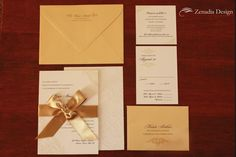 This is a nice suite Lace Invitations, Invites, Wedding Paper, Ribbon, Ivory, Place Card Holders, Wedding Ideas, Culture, Nice