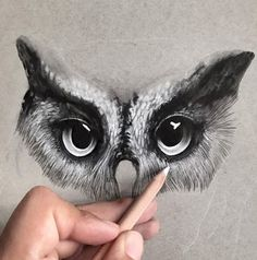 His Drawing Starts Off As Black And White, But When I See The Finished Product? Amazing!