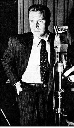 Edmond O'Brien, CBS Radio, 1949