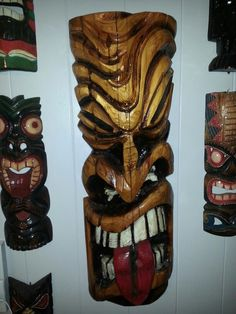 My own collection of Tikis