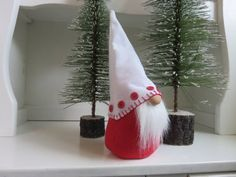 Swedish gnome Tomte Nisse Christmas Gnome by FlowerValleyGnomes