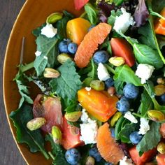 """A glorious salad made from from extra healthy """"Super Foods"""""""