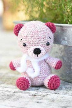 Ayı Teddy Bear Amigurumi