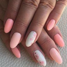 #inventivenails #pinknails #springnails #floralnails #handpainted #nailart #naildesign #nailsofinstagram #nailsoftheday by inventivenails