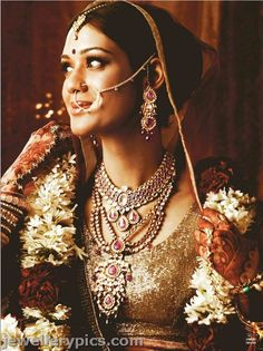 An integral part of traditional bridal jewelry, many aristocratic families have a special nath brought out at weddings to be worn by the bride. Description from pinterest.com. I searched for this on bing.com/images