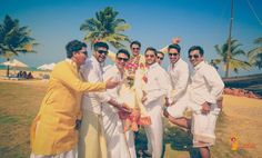 pictures every indian groom must have with his friends from the wedding | Destination wedding clicks | Curated by Witty Vows