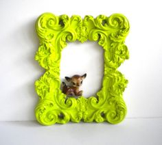 amye123  love this frame! i also always have a soft spot for kitsch...love the deer with it