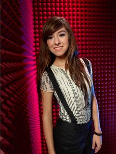 I love this girl and her hair! Christina Grimmie