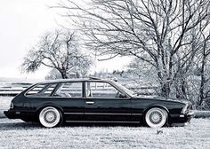 Very special BMW 635 CSi Wagon.