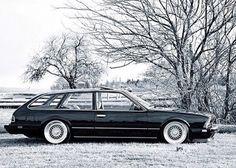 Very special BMW 635 CSi Wagon.