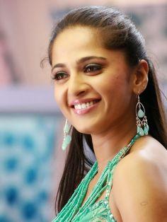 Anushka Sheety Photos In Green Dress - Anushka Shetty