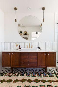 Bathroom Inspiration // Anaber Design The Perfect Scandinavian Style Home Interior Exterior, Bathroom Interior Design, Home Interior, Decor Interior Design, Interior Decorating, Boho Bathroom, Bathroom Renos, Small Bathroom, Neutral Bathroom