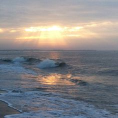 Sunrise at Cape May #beach Club this morning  #CapeResortsWedding #NicoleMillerBridal