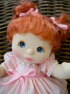 I had a My Child doll that looked just like this one! Loved her.