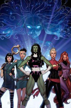 Fuerza-V 6 ¡Nueva etapa! De las cenizas de Mundo de Batalla, nace una leyenda. Singularidad, la nueva superheroína del Universo Marvel, ha reunido a más poderoso grupo de vengadoras para combatir a su lado. Hulka, Capitana Marvel, Dazzler, Medusa y Nico Minoru... ¡Ellas forman Fuerza-V!